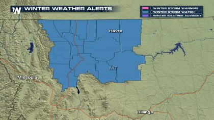 Winter Storm Heading to Montana Friday and Saturday