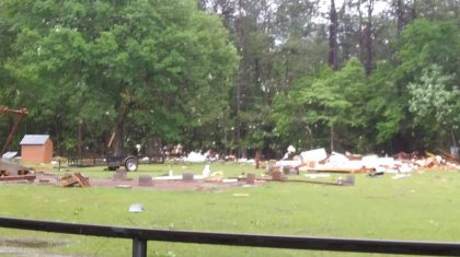 Tornadoes touch down in Southeast; damage reported