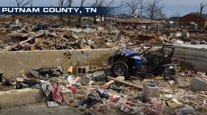 Tennessee Violent Tornado Rated EF-4
