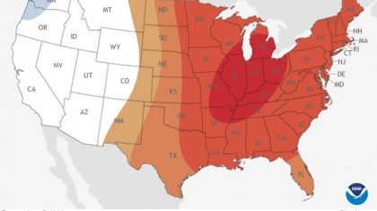Updated March Outlook from NOAA's Climate Prediction Center
