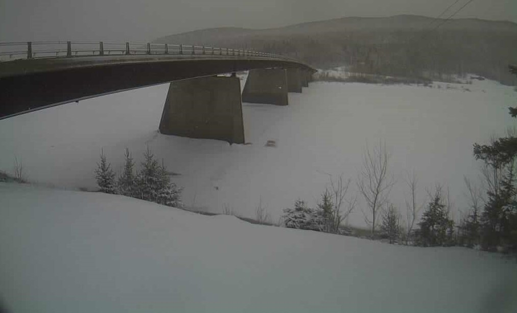 Areas of Heavy Snow in Maine