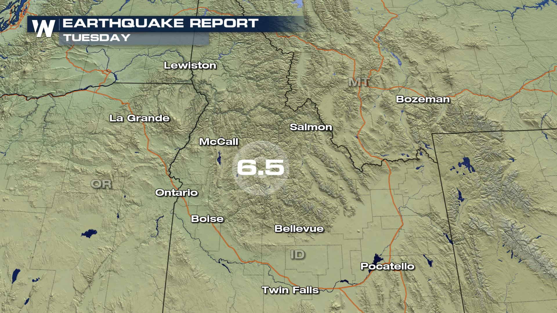 6.5 Magnitude Earthquake in Idaho Shakes the Region