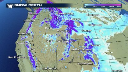 Late Winter Storms Boost Western Snowpack