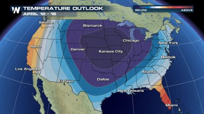Big Chill Likely Across U.S. Next Week