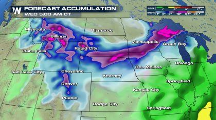 Snow Returns to the High Plains