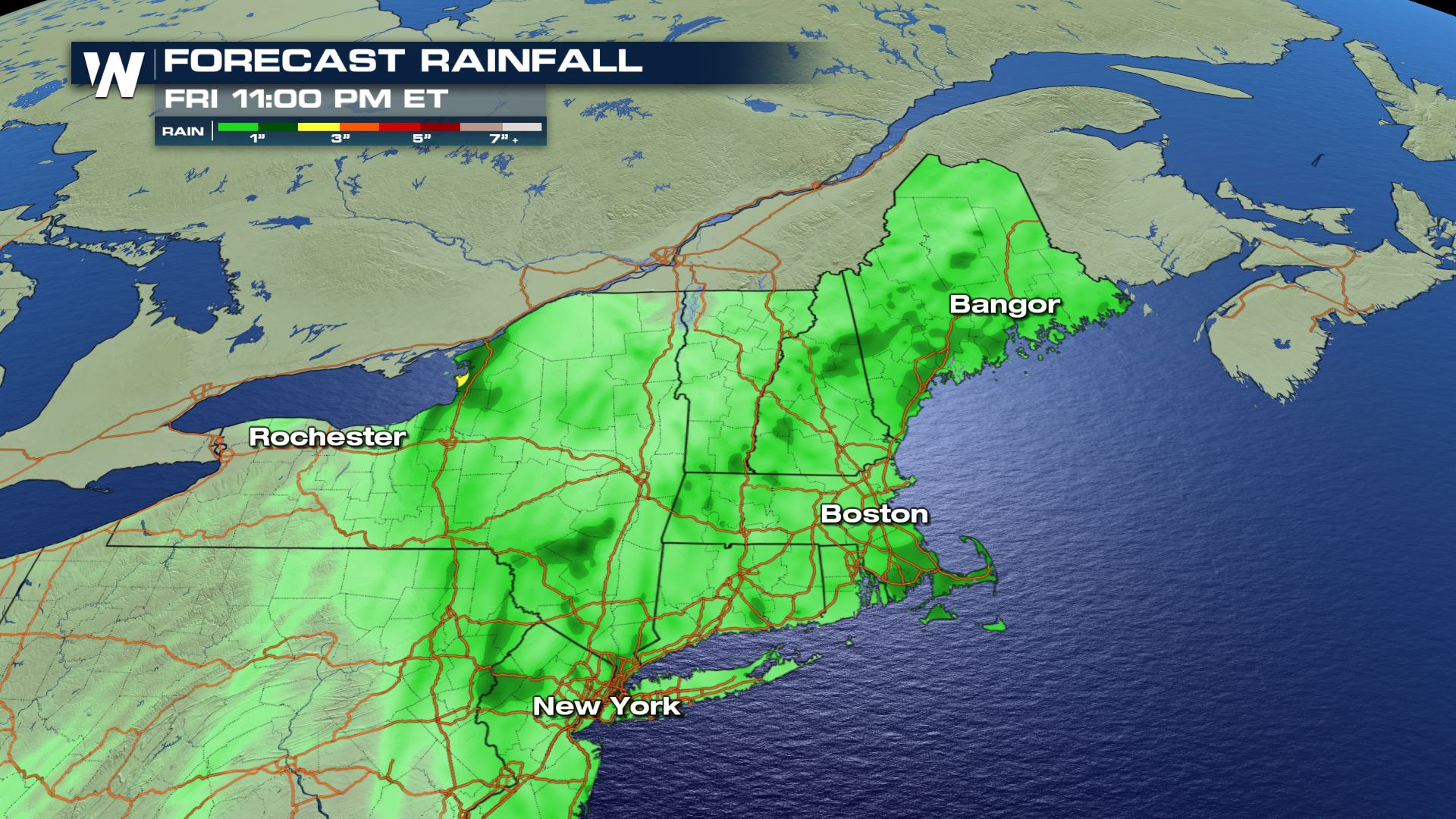 Potent Storm System Brings Flooding Threat to the East
