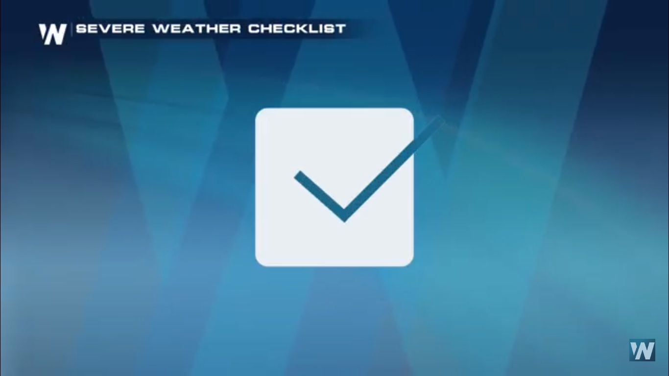Your Severe Weather Checklist