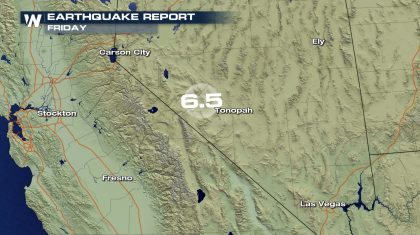 Large Earthquake in Nevada Shakes the West