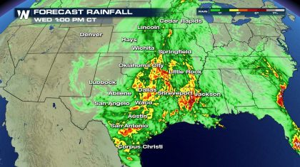 Flood Threat Continues Across the Midwest