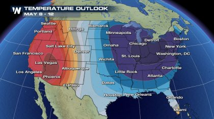 Not Again! Another Big East Coast Cool Down Next Week