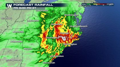 Mid-Week Flood Threat For Eastern U.S.