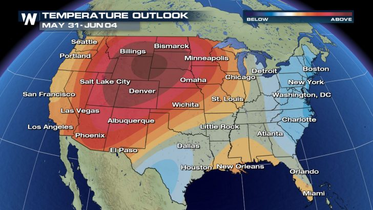 Heat Wave For Much Of U.S. Next Week?