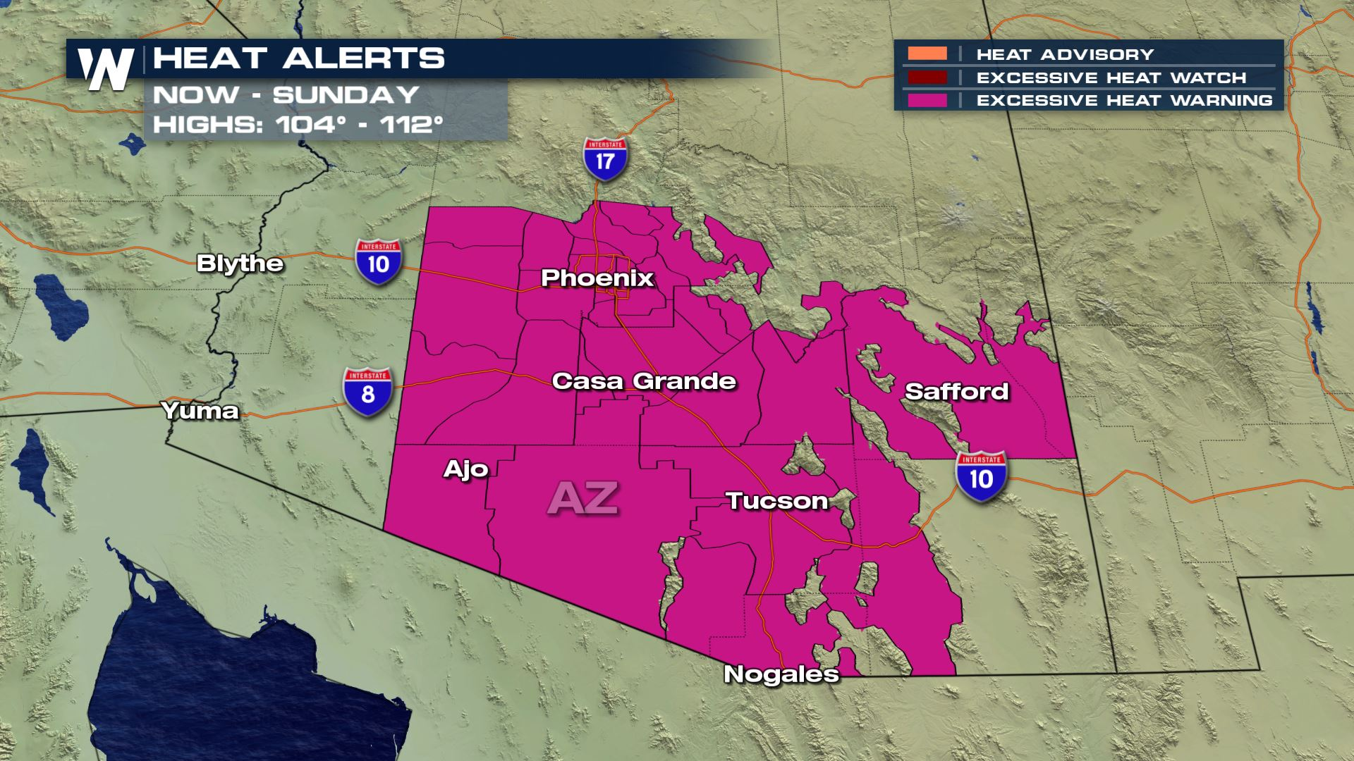Extreme Heat Ahead for the Southwest