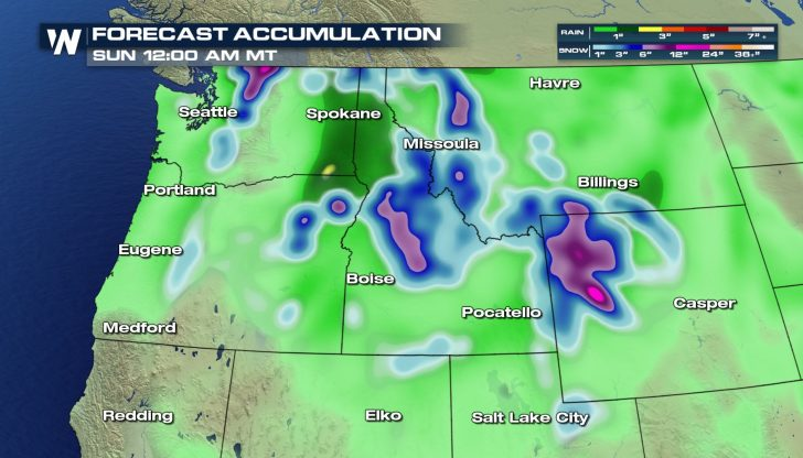 Northwest Chill: Rain & Snow