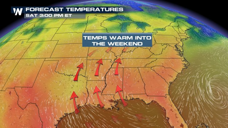 Finally! Big Warmup Heading To The East Coast