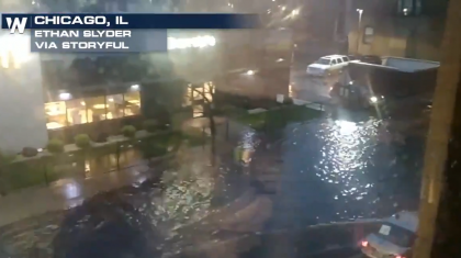 Significant Midwest Floods From Overnight Rainfall
