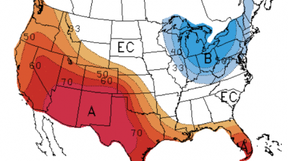 Updated May Outlook from the Climate Prediction Center