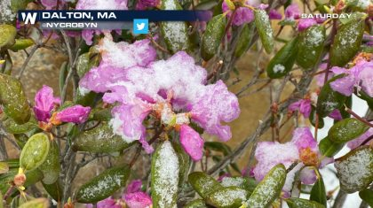 Record Snowfall Blankets The Northeast