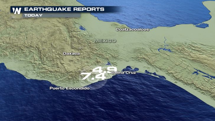 Strong Earthquake Rattles Southwest Mexico