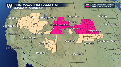 Heightened Fire Danger in the Southwest