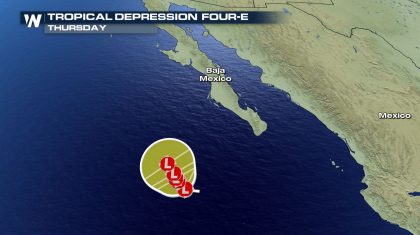 Tropics: Tropical Depression 4 Forms in Eastern Pacific
