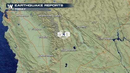 Strong earthquake shakes Central California