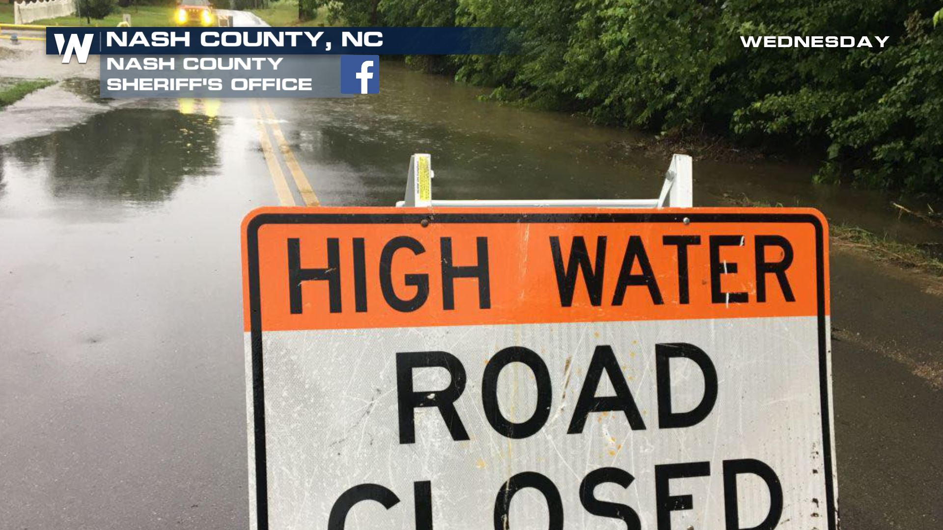 Flash Flooding Closes Several Mid-Atlantic Roads
