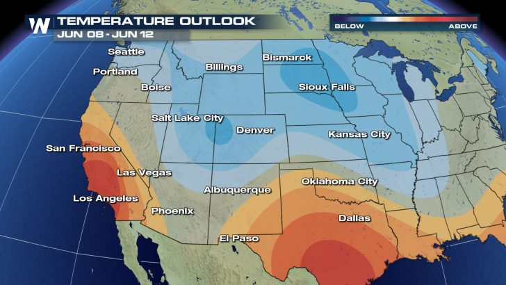 Temps Expected to Tumble Next Week