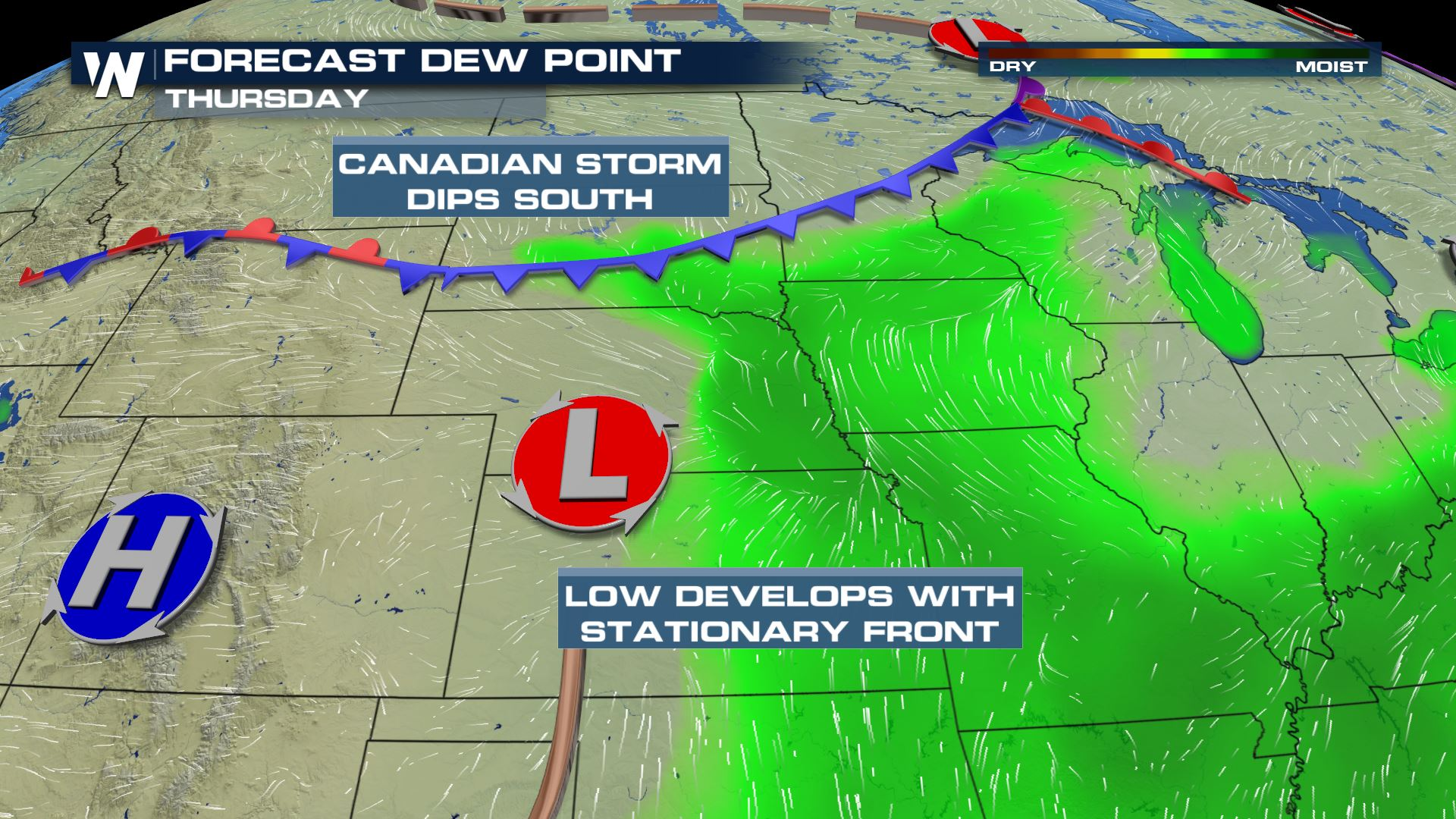 Building Central Storms Through Midweek