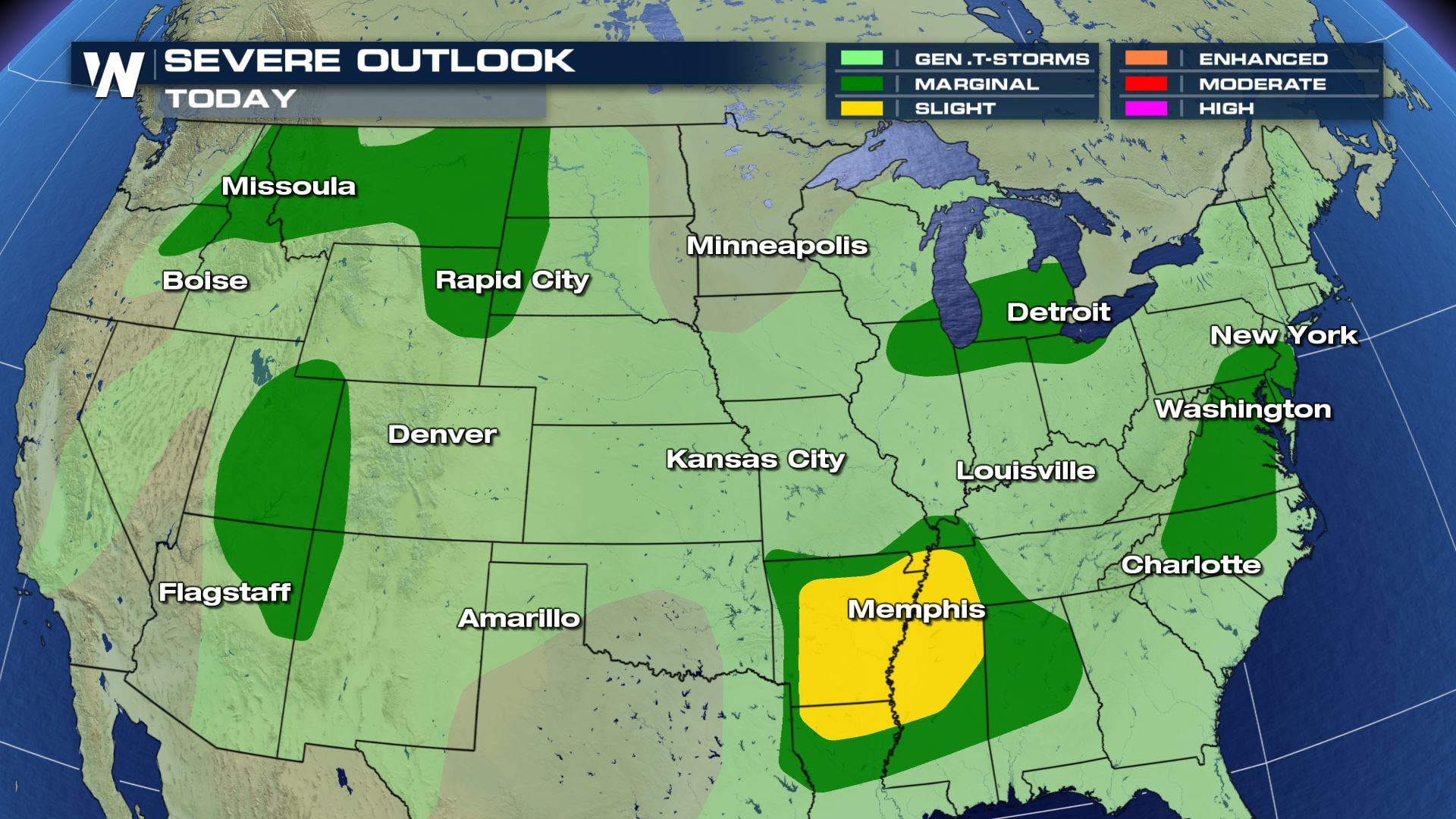 Severe Storms Target Northern Plains Through This Weekend