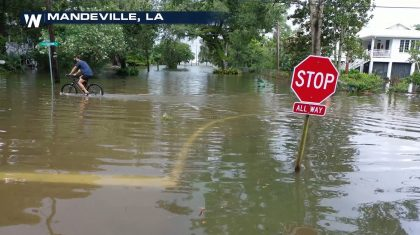 Mississippi Valley Severe Storms & Heavy Rain from Cristobal
