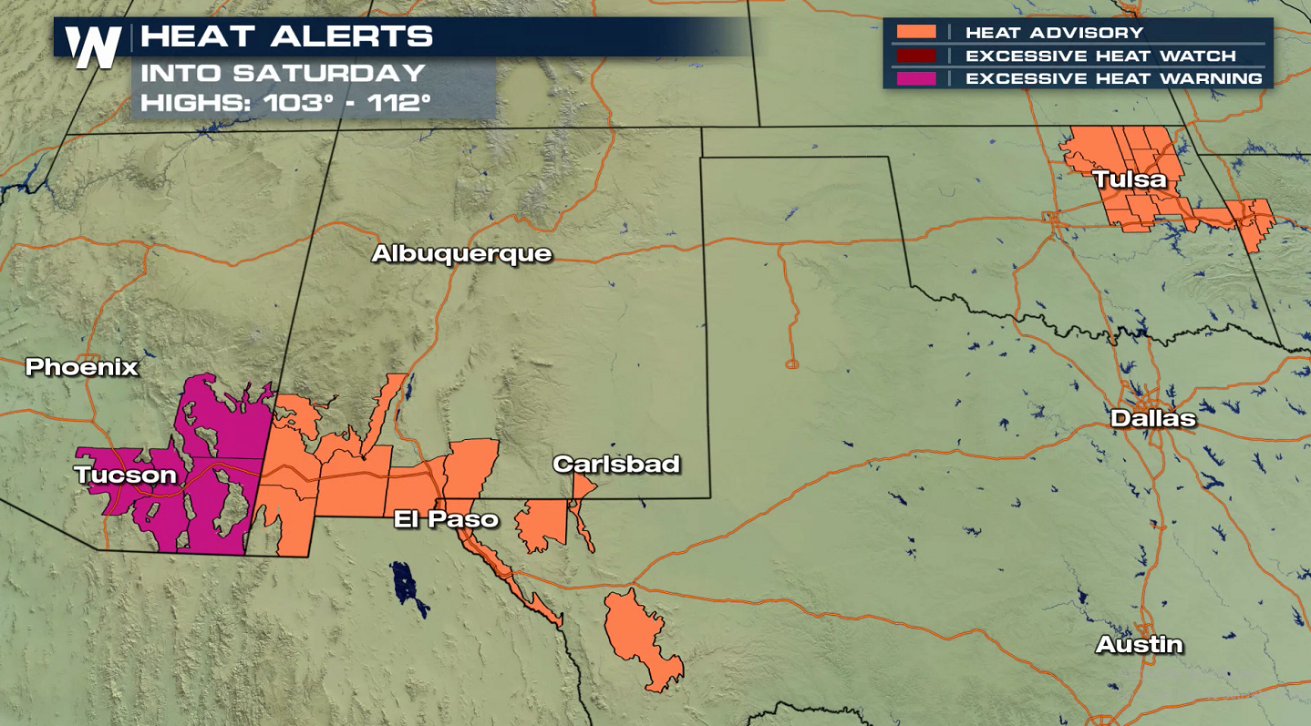 Extreme Heat Continues for the Southwest