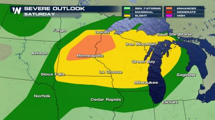 Another Round of Severe Storms in the Upper Midwest