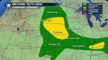 High Plains Severe Weather Threat Next Few Days