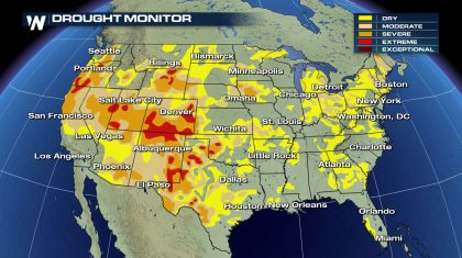 Drought Status Updated: How's Your Area?
