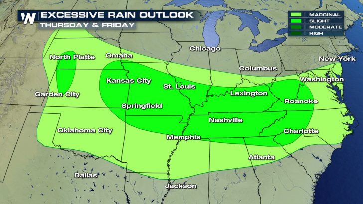 Drenching Downpours Soak Central US