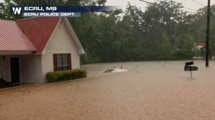 Flood Emergency Issued In Mississippi