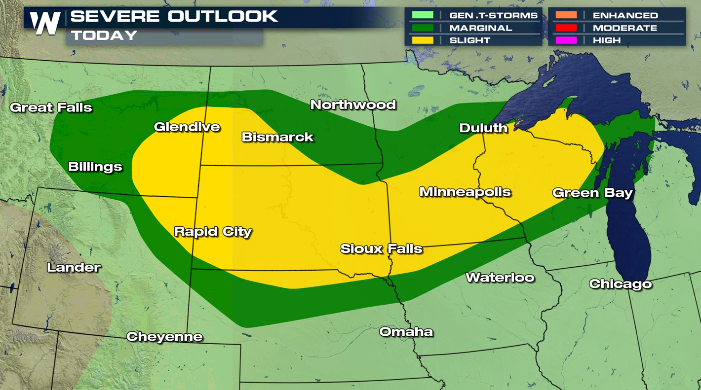 Northern Plains Severe Threat to Start This Week