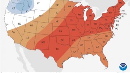 Updated July Outlook Brings the Heat