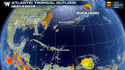 Tropical Storm Edouard Has Formed in the Atlantic