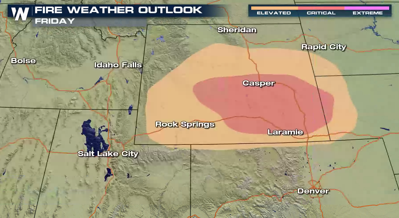 Critical Fire Concern Continues into This Weekend