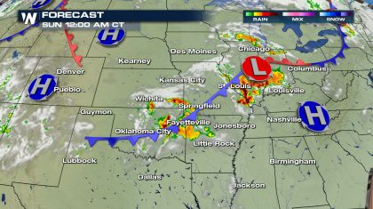 Severe Weather Threat Continues Across the Plains and Midwest