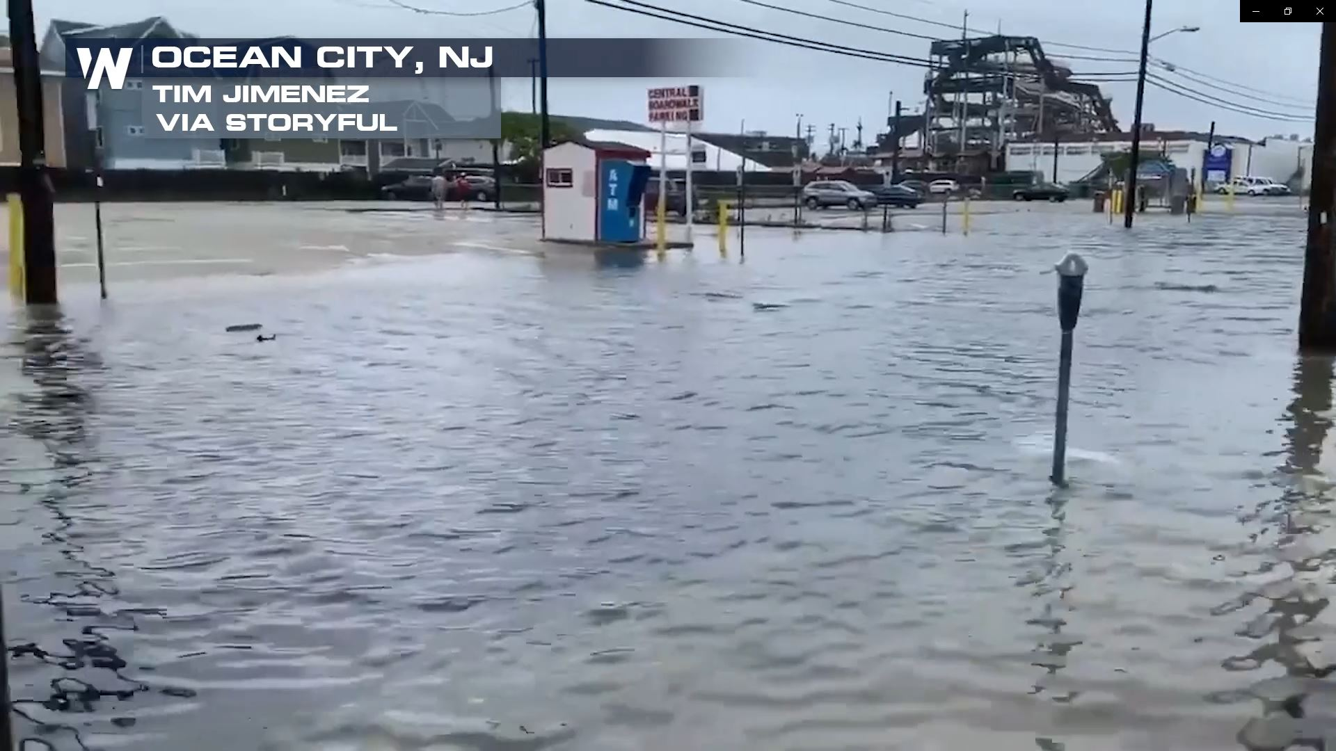 Fay Landfalls In New Jersey Then Degenerates