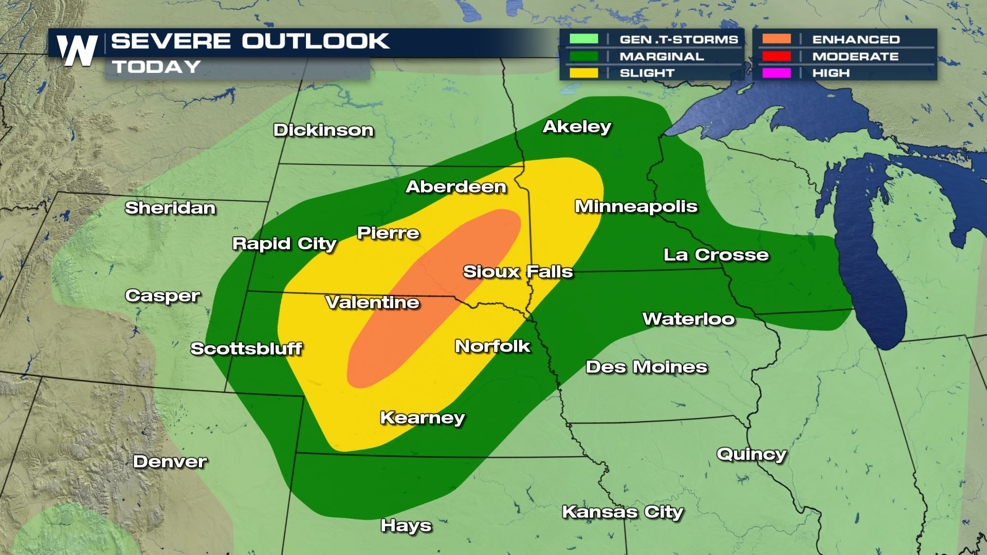 Weekend Severe Threat in the Plains
