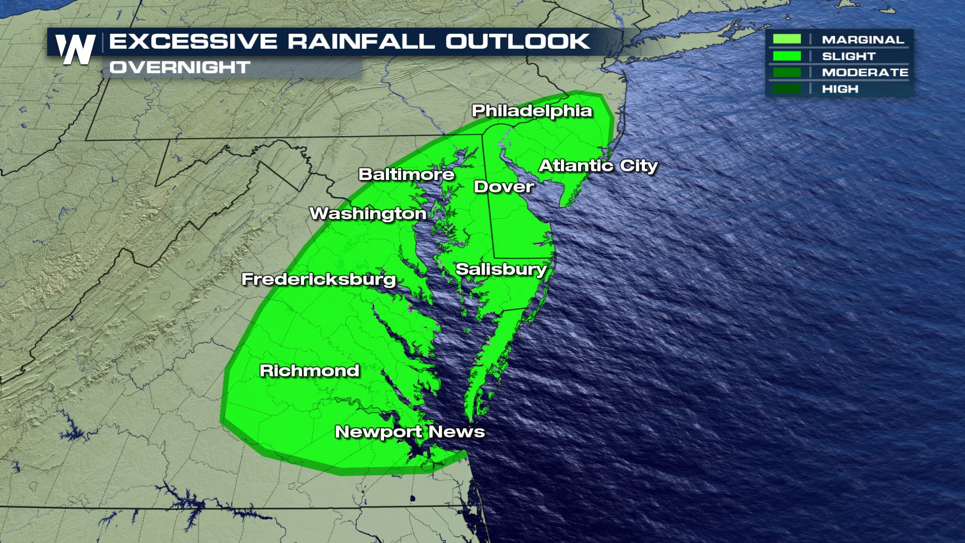 Flash Flooding and Severe Storms Target the Mid-Atlantic