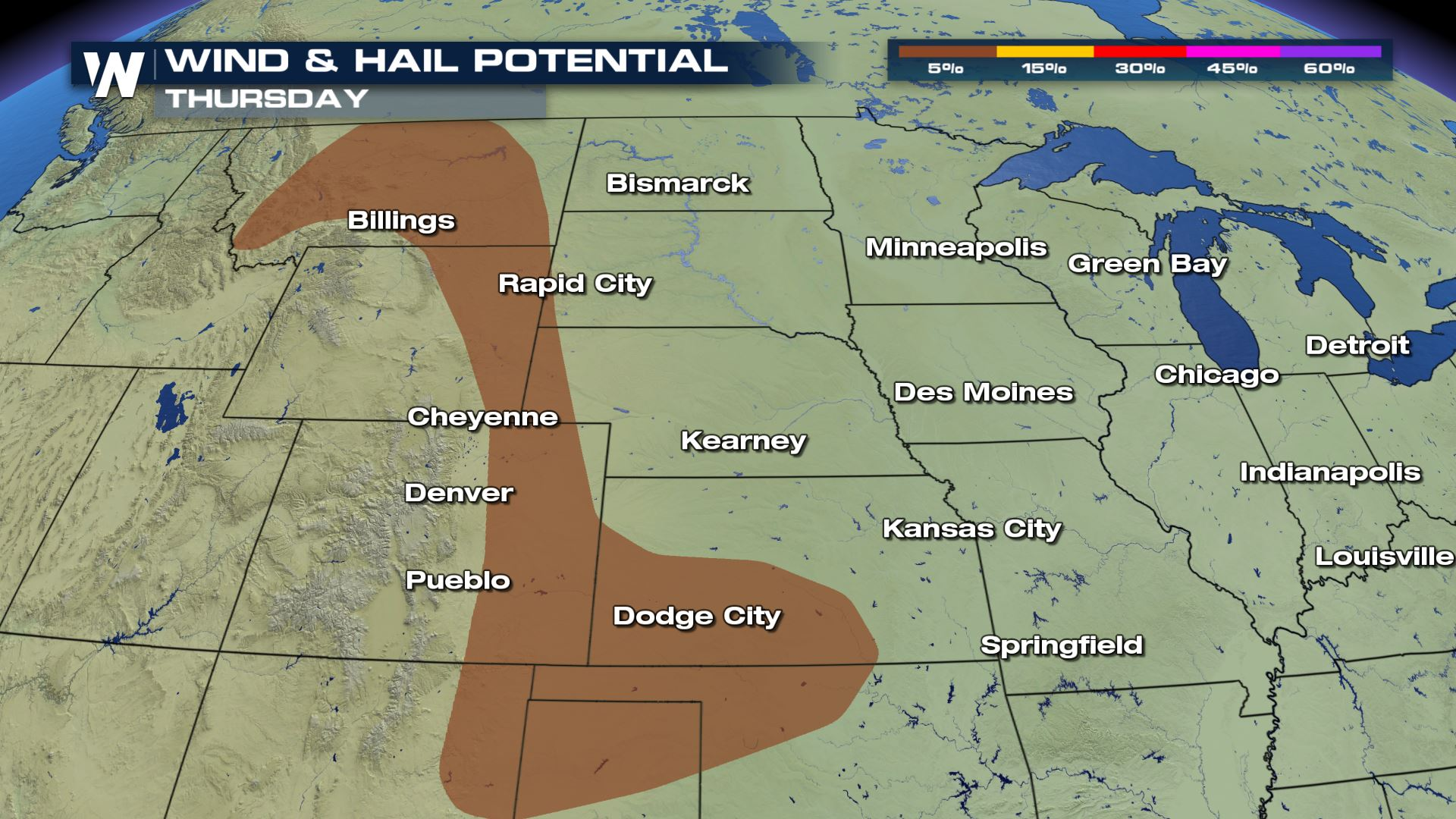 More Storms Develop Along the Rockies
