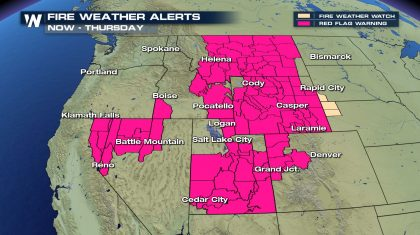 Critical Fire Danger Continues in the West