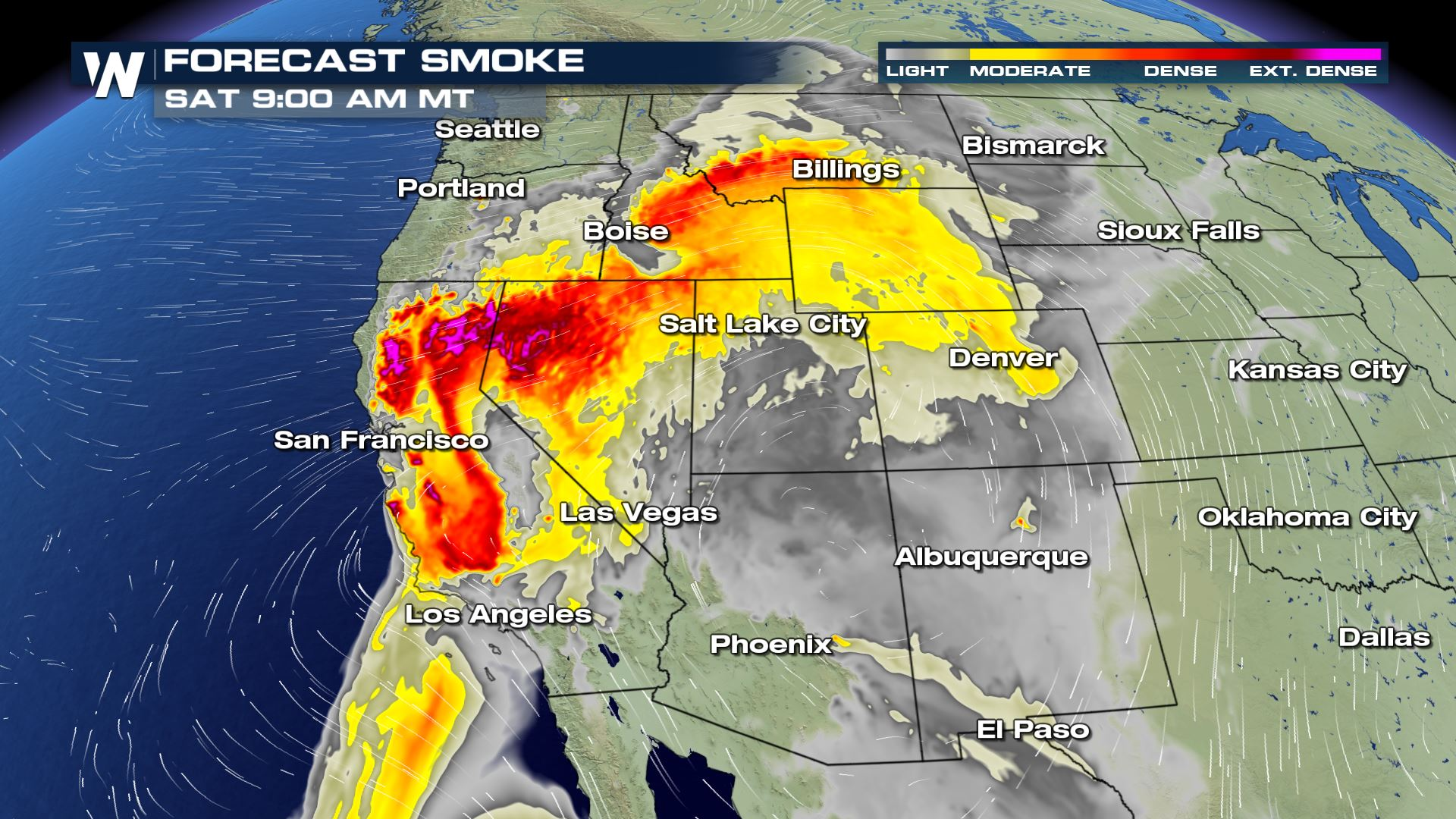 Wildfires Grow, Continued Fire Danger Into Weekend