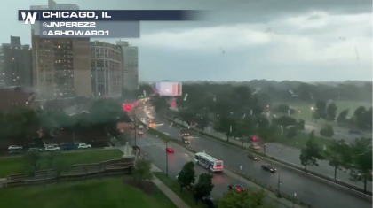 Derecho Leaves Wake of Damage in Midwest