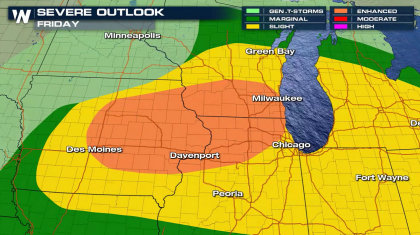 Severe Weather Remains a Threat in the Midwest